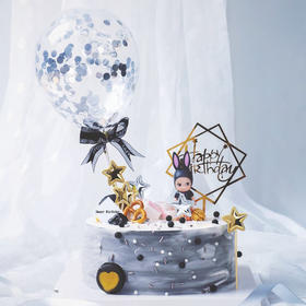 【港珍加盟店】告白气球蛋糕