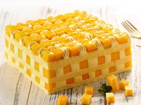 <限时折扣>芒果香缇·全芒口味裸蛋糕
