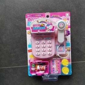 粉红兔超市收银机21013