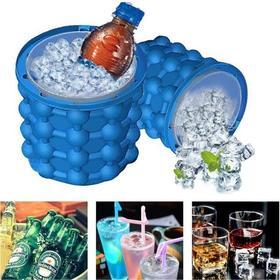 【夏季必备】硅胶冰桶 制冰杯 冰杯 Cube Maker 制块冰制冰机器