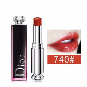 法国Dior/迪奥 瘾诱漆光唇釉唇膏 #740  香港直邮