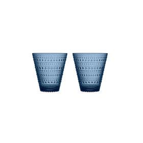 芬兰【Iittala】Kastehelmi 露珠玻璃杯 2件装 300ml