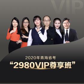 2020青海VIP尊享班(1200+超长课时,45册图书礼包,超强师资,超全课程,VIP服务)