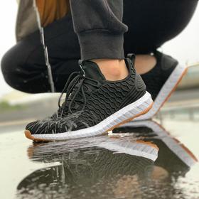 【高弹爆米花  轻酷防水污】量橙防水抗污休闲鞋  透气韧性   去菌除臭  舒适耐磨