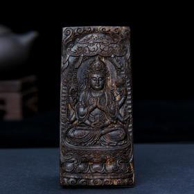 【已结缘】惠安沉水级 沉香雕件   58.86克     H190501-1G