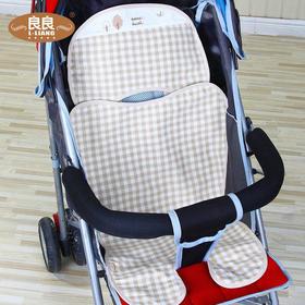 【两色可选】良良婴幼儿纯苎麻推车凉席