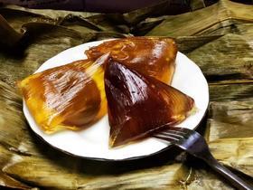 【端午特价】包邮水晶粽,抹茶味、红豆味,紫薯味、2盒,每盒6个,共计12个