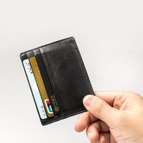 极简超薄 头层小羊皮卡包 多卡位包随身名片包