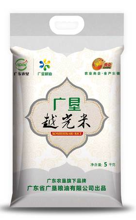 广垦品牌越光米 5kg/袋