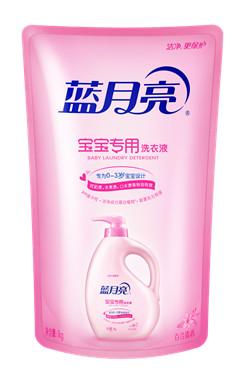 蓝月亮百合清香宝宝专用洗衣液 1kg/袋