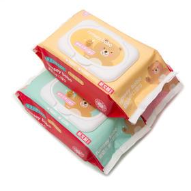 BOBO 婴幼儿手口湿巾 宝宝湿纸巾 80片(单包)