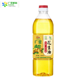 【醇香浓郁】广垦压榨一级浓香花生油 900ml/瓶