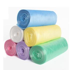 【9.9元包邮6卷120只垃圾袋】家用办公彩色垃圾袋 加厚点断式塑料袋 月销13万 口碑款
