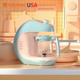 Babytrend婴儿辅食机宝宝辅食工具 多功能全自动蒸煮一体料理机