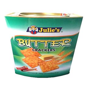 茱蒂丝奶油苏打饼干 700g/罐