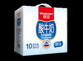 德亚酸牛奶 200ml*10支/箱