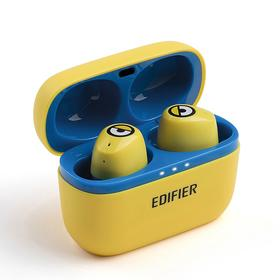 """漫步者(EDIFIER)W3""""小黄人""""定制版 真无线蓝牙耳机 运动耳机 迷你入耳式手机耳机通用苹果华为小米手机"""