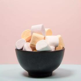 【精选】熊星仁棉花糖 | 口感柔软 缤纷果味 烘焙糕点原料 | 香草味 葡萄味 芒果味150g*3袋【休闲零食】