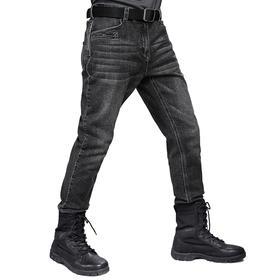 【抗污防水】三防微弹四季牛仔裤