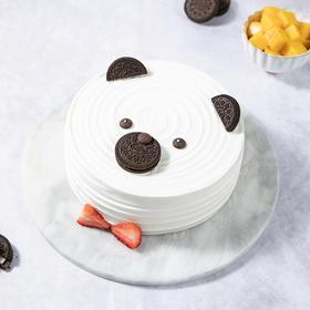 【怀化新品儿童蛋糕】幸福小熊 酸甜芒果夹心,孩子爱不释口