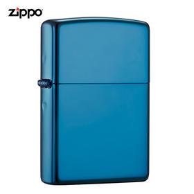 【正品保障】Zippo正版美国原装进口打火机(蓝冰)