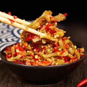【脆辣萝卜+剁椒组合】 手工剁制  土陶古法泡制 鲜香脆辣  一勺下饭菜 开胃辣酱