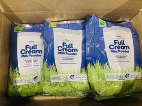 澳洲woolworths超市专供奶粉全脂1kg