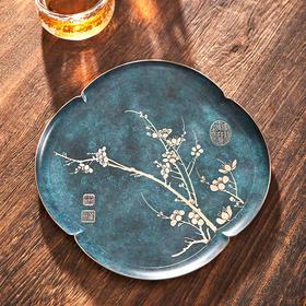 朱炳仁·铜·清流乾坤茶盘│百年朱府铜艺,中国人的传家宝