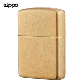 【正品保障】Zippo正版美国原装进口打火机(盔甲砂金)