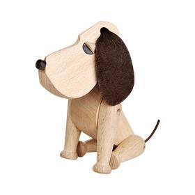 丹麦Hans Bolling《Oacar》纯手工木质小狗摆件