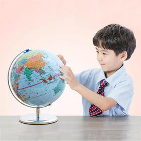 北斗 dipper AR智能地球仪、木质磁力地图!世界地图 + 中国地图!超神、超厚的磁力拼板!孩子玩着玩着,就记住了!地理知识启蒙,安全环保