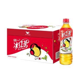 【夏日饮品】统一绿茶500ml×15瓶/箱冰红茶