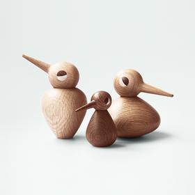 丹麦Kristian Vedel《Bird》纯手工木质小鸟摆件
