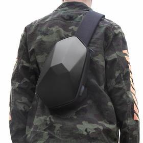【塑造有型  个性出行】凹凸设计新款胸包