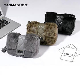 Tasmanugg獭兔毛链条包(国内现货)