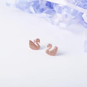 梦幻巴黎 一款两戴小天鹅珍珠耳线