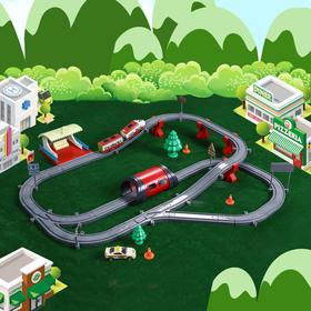 「预售 一周内发货 | 开发思维 | 培养动手能力」和谐号 益智电动儿童玩具轨道火车