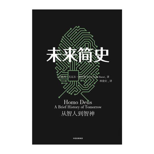 【读书月】未来简史(中文版) 从智人到神人 人工智能 尤瓦尔 赫拉利 著 人类简史今日简史作者作品  中信出版社图书 正版书籍 商品图5