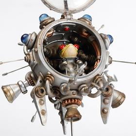 """镰田光司 《Search small spaceship Picoloid k-6》 探索小型宇宙船 ピコロイド k-6"""" 雕塑"""