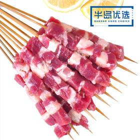 鲜嫩新鲜牛肉串 20g*12串 烧烤