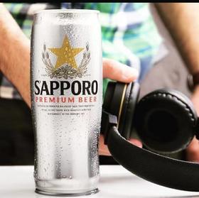 聚会必备 Sapporo 三宝乐啤酒 听装 12罐入整箱 650ml 札幌啤酒