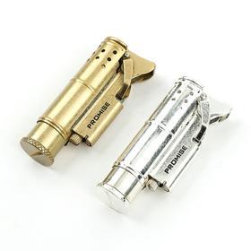 【情怀军品】一战战壕黄铜棉油打火机