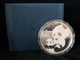 2019年熊猫精制1公斤银币
