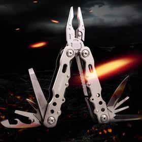 【机械师多功能钳】随身便携工具1件=8件 钳头粗壮耐用,硬度高,剪硬物干净利落