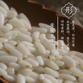 塔河沙垦 阿善香米玉珠玉芽新疆大米寿司米沙漠米非东北大米 3KG装