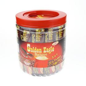 鹰牌桶装三合一速溶咖啡40小包720克