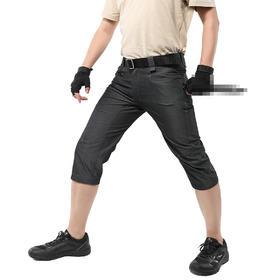【塑型微弹7分裤】杜邦T400科技三防春夏战术裤