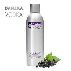【包邮】Danzka铝罐醋栗味40度伏特加1000ml