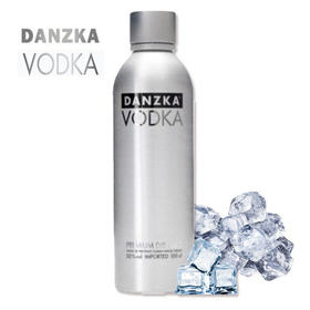 【包邮】Danzka铝罐原味50度伏特加1000ml