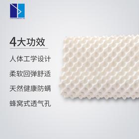 LATEX SYSTEMS泰国天然乳胶枕 单人乳胶枕头 成人按摩颈椎枕